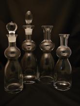Čiré lahve, karafy a džbány
